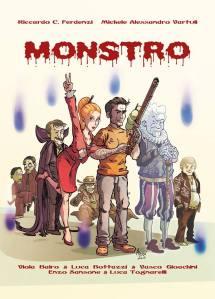 """La front-cover ufficiale di """"MONSTRO"""", a cura di Alessandro Alessi Anghini"""