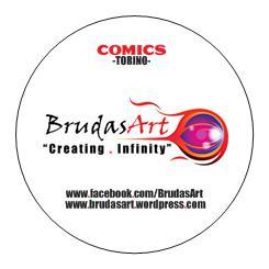 BrudasArt Comics - Adesivi circolari