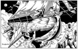 Monstro - miniflyer Vascello