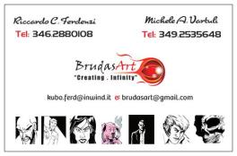 BrudasArt - II. Bigliettini Design Back